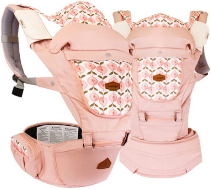 I-angel Miracle Hip Seat Carrier (pastel pink) by I-angel