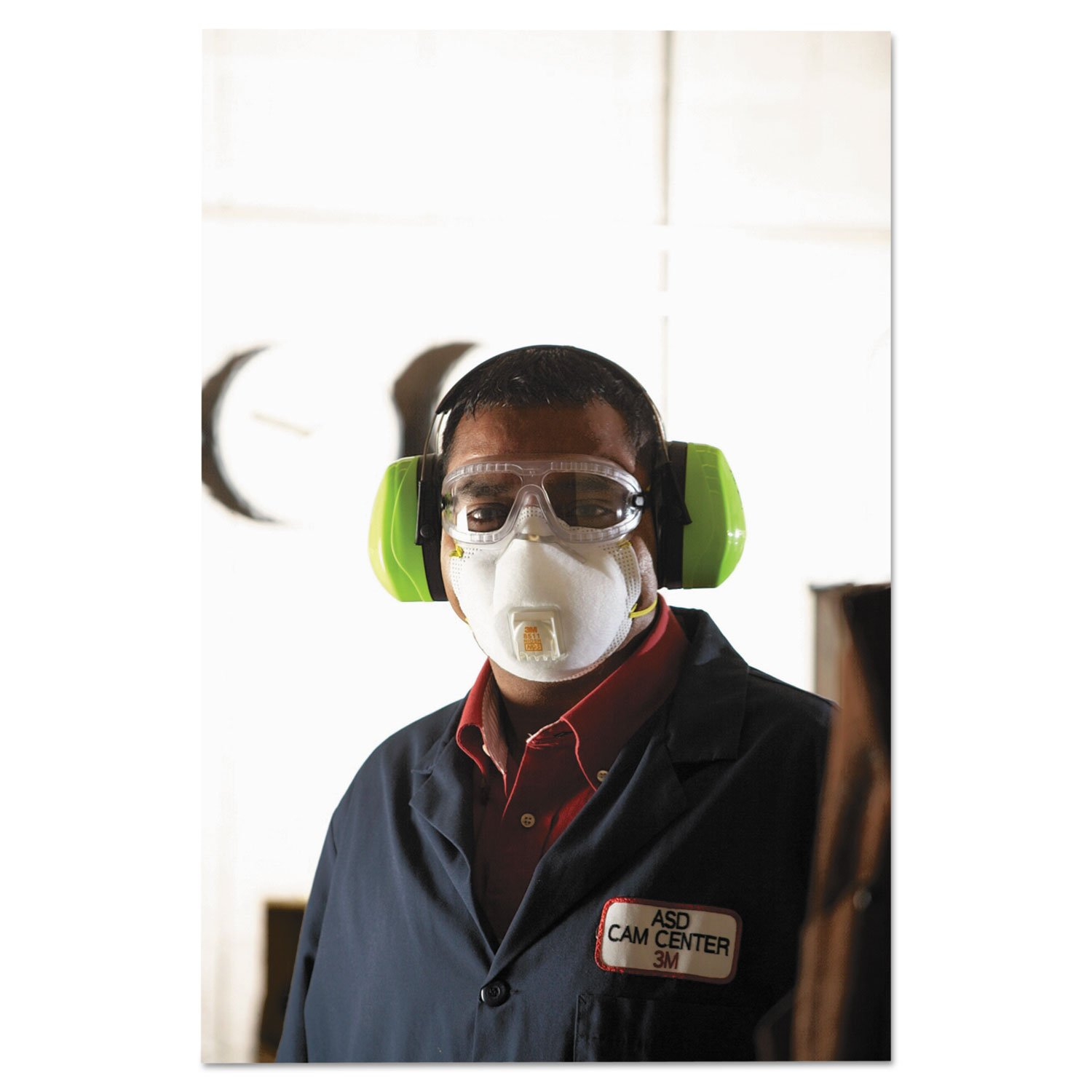 MMM8511 - 3m Particulate Respirator w/Cool Flow Exhalation Valve
