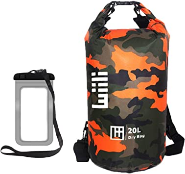 Outdoors Dry Bags Pouch Rafting Boating Kayaking Camping Hiking Waterproof Sack