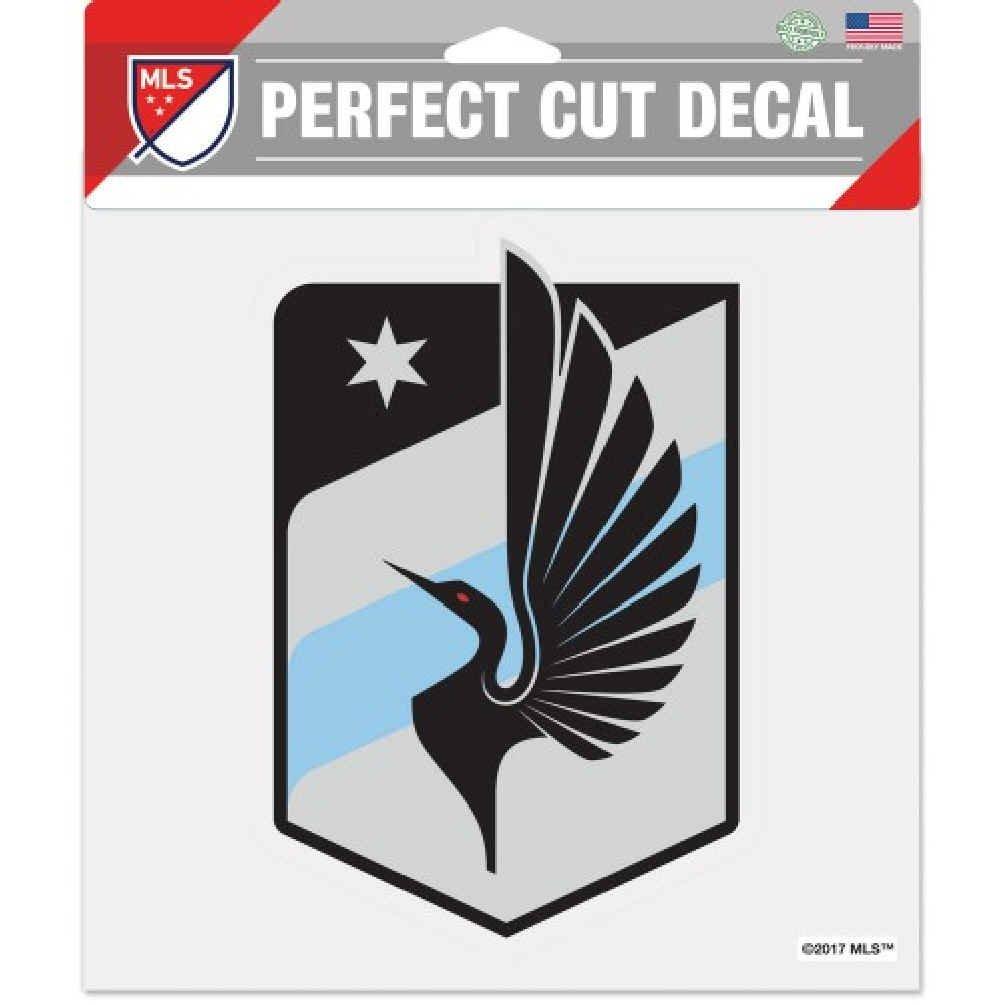 8 x 8 Perfect Cut Decal Wincraft Minnesota United Football Club Soccer