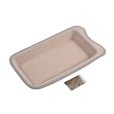 Yunt griffoir de gato Panche rectangular para rascar cama cesta para gato