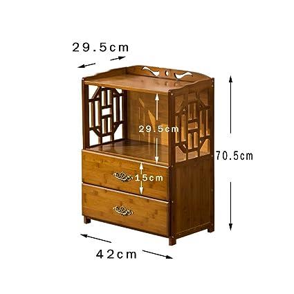 L&Y Muebles de cocina estantes chinos simples estantes librería piso ...