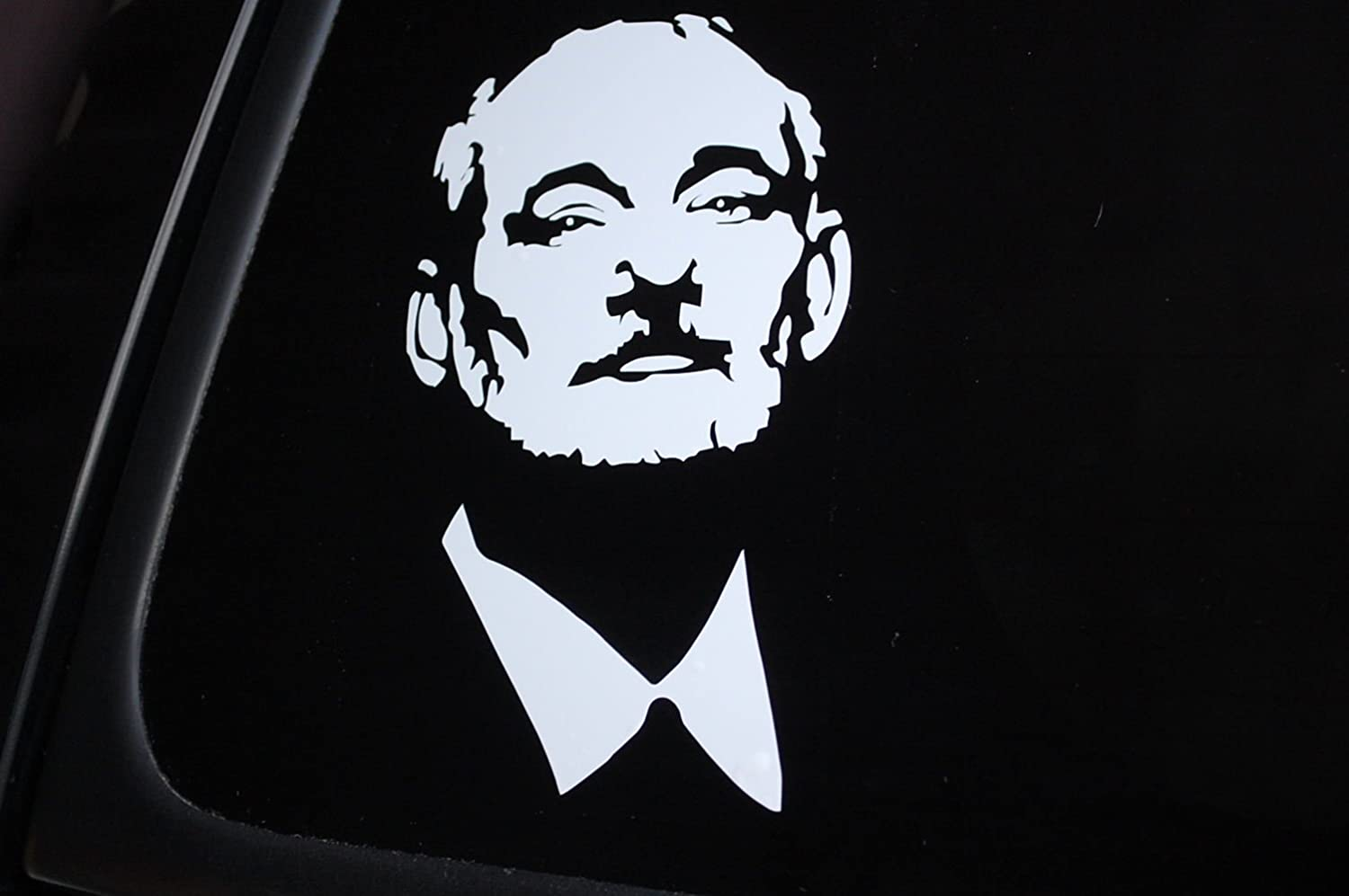 Taken by a bearded man car window vinyl decal 5 by 5 made from 6 year