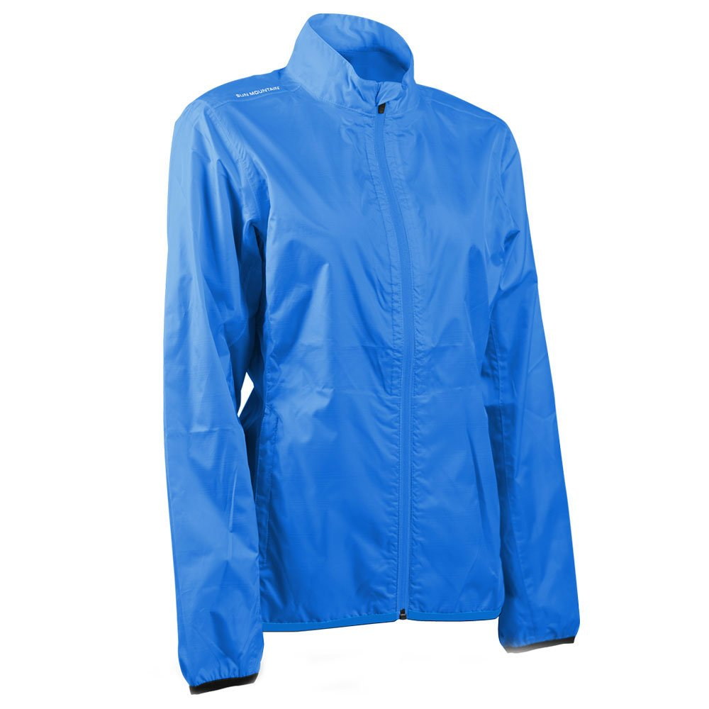 Sun Mountain Women Cirrus Golf Jacket Sapphire Small by Sun Mountain