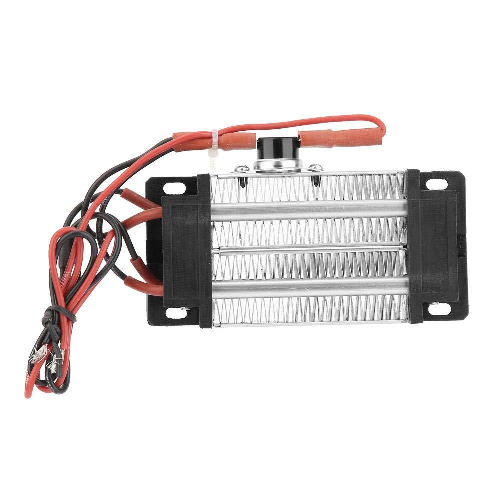 Acquisto Riscaldatore elettrico in ceramica riscaldato ad aria PTC con isolamento in corrente continua AC DC da 300 W 220 V Prezzi offerte