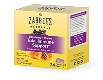 Amazon.com: Zarbees Elderberry Immune Support, 722, 1 ...
