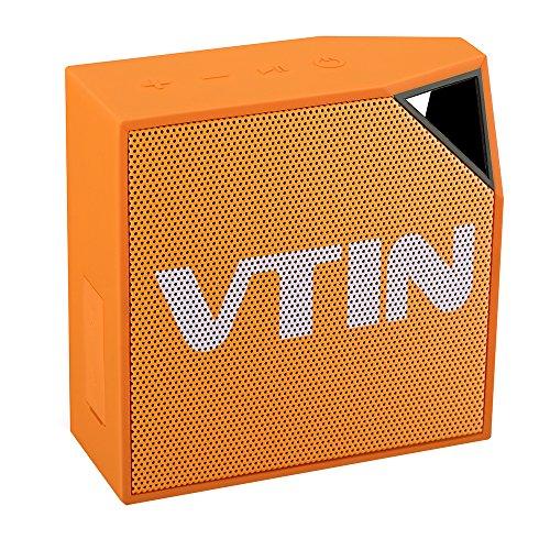 Vtin Waterproof Speakers Bluetooth Phones Orange