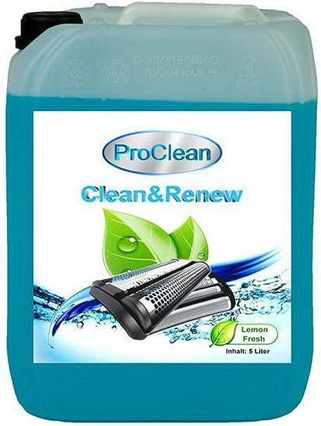 Proclean cabezal de limpiador para rellenar de estaciones de Braun Clean & Charge de la serie 3: 370 cc/390 cc, 5 L ...