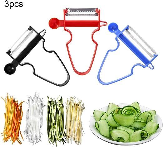 Vegetable Potato Fruit-Peeler Cabbage Grater Cutter Slicer Stainless Steel GF
