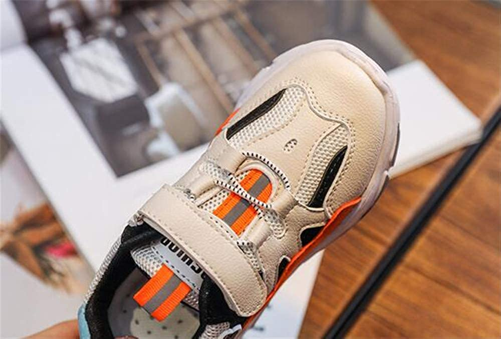 dffg455u Kids Running Sneakers Tennis Hiking Shoes Boys Girls Athletic Outdoor Sneakers Slip Resistant