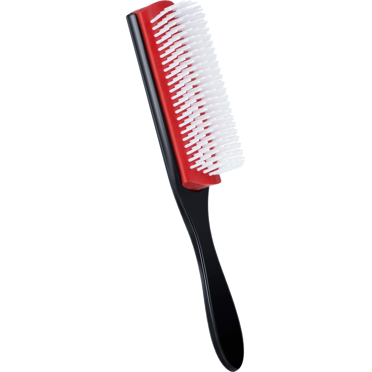 Boao 9 Row Styling Brush 9 Row Bristles Styling Hairbrush 9 Row Hair Comb for Blow Drying Hair Styling Tool