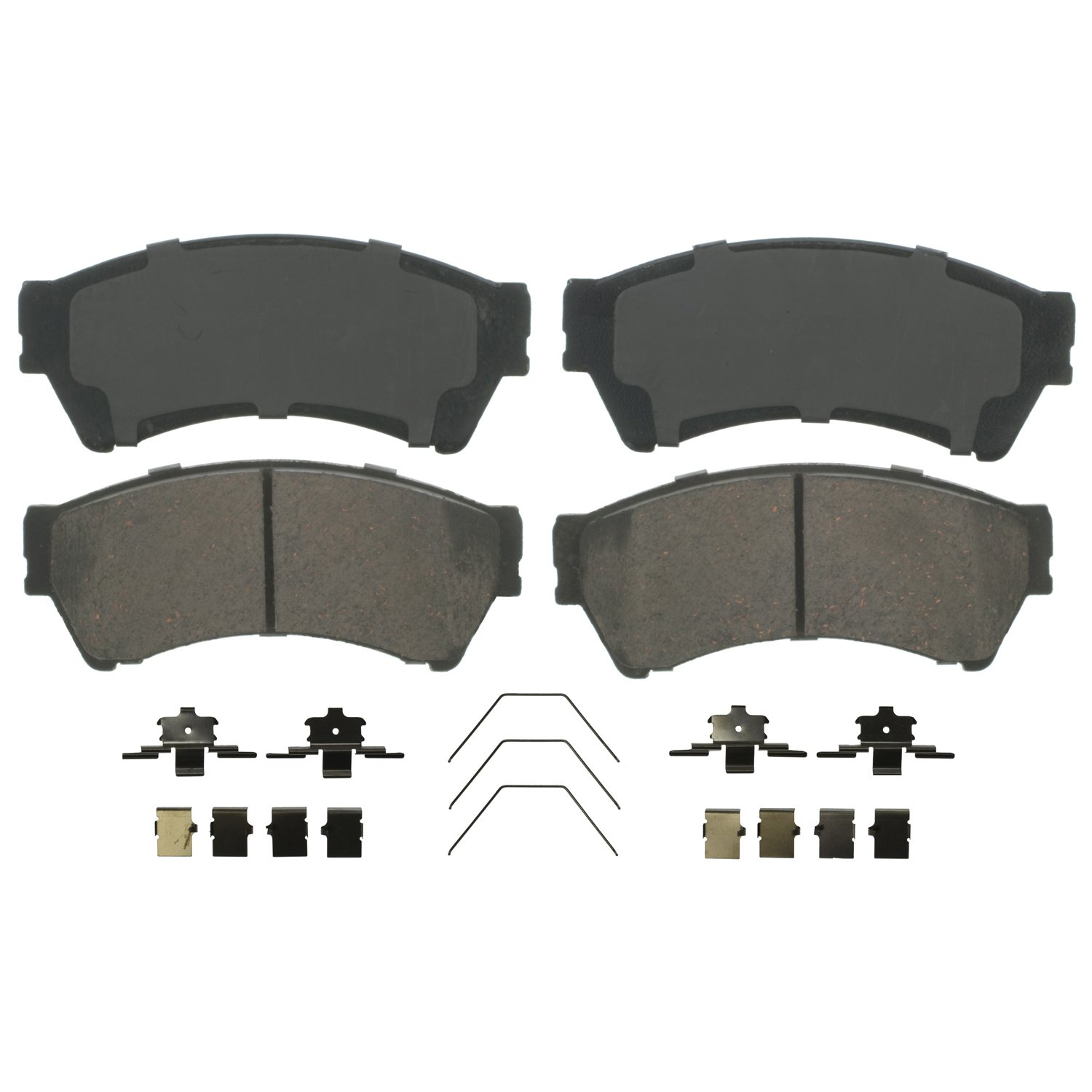 Wagner QuickStop ZD1164 Ceramic Disc Pad Set Includes Pad Installation Hardware, Front Wagner Brake