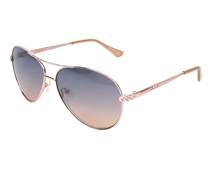 Guess - Gafas de sol - para mujer Amarillo Gold-kupfer 60 ...