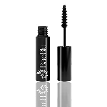 e7b35e8e792 Amazon.com : BaeBlu Organic Mascara and Lash Conditioner, Long and Healthy  Lashes, Non-Irritating 100% Natural Formula, Black : Beauty