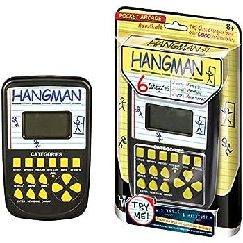 Pocket Arcade Electronic Hangman Game