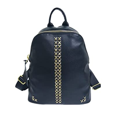 LDW Black Soft Leather Backpack Sports Backpack Casual Shoulder Bags for Women and Girls best