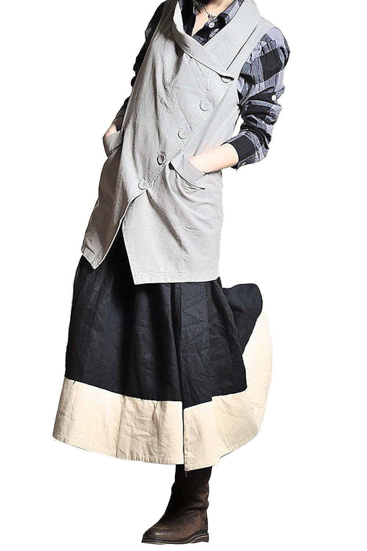 KE LAN Kelanapparel Custom Made Casual Loose Fitting Skirt Plus Size Maxi Wrap Skirt KL008S