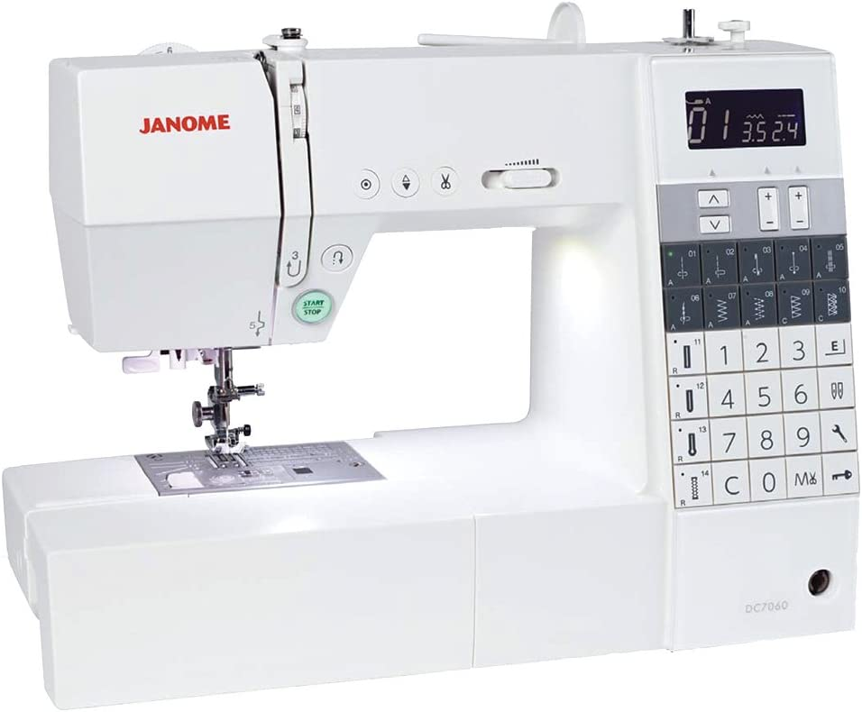 Janome DC 7060 - Máquina de coser: Amazon.es: Hogar