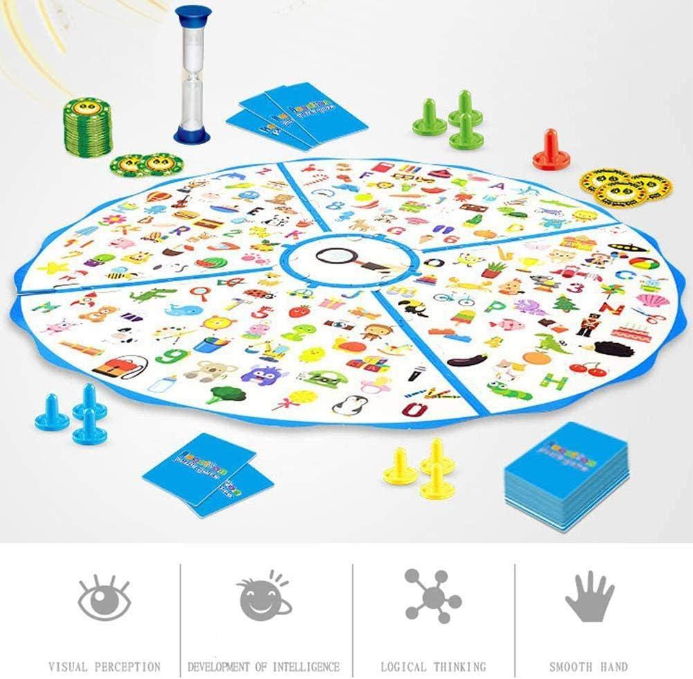 Dynamicoz Juegos De Mesa Flight Chess Family Game 2 En 1 Concentración Capacidad De Respuesta Entrenamiento Juego De Mesa Detective Finding Plane Chess: Amazon.es: Hogar