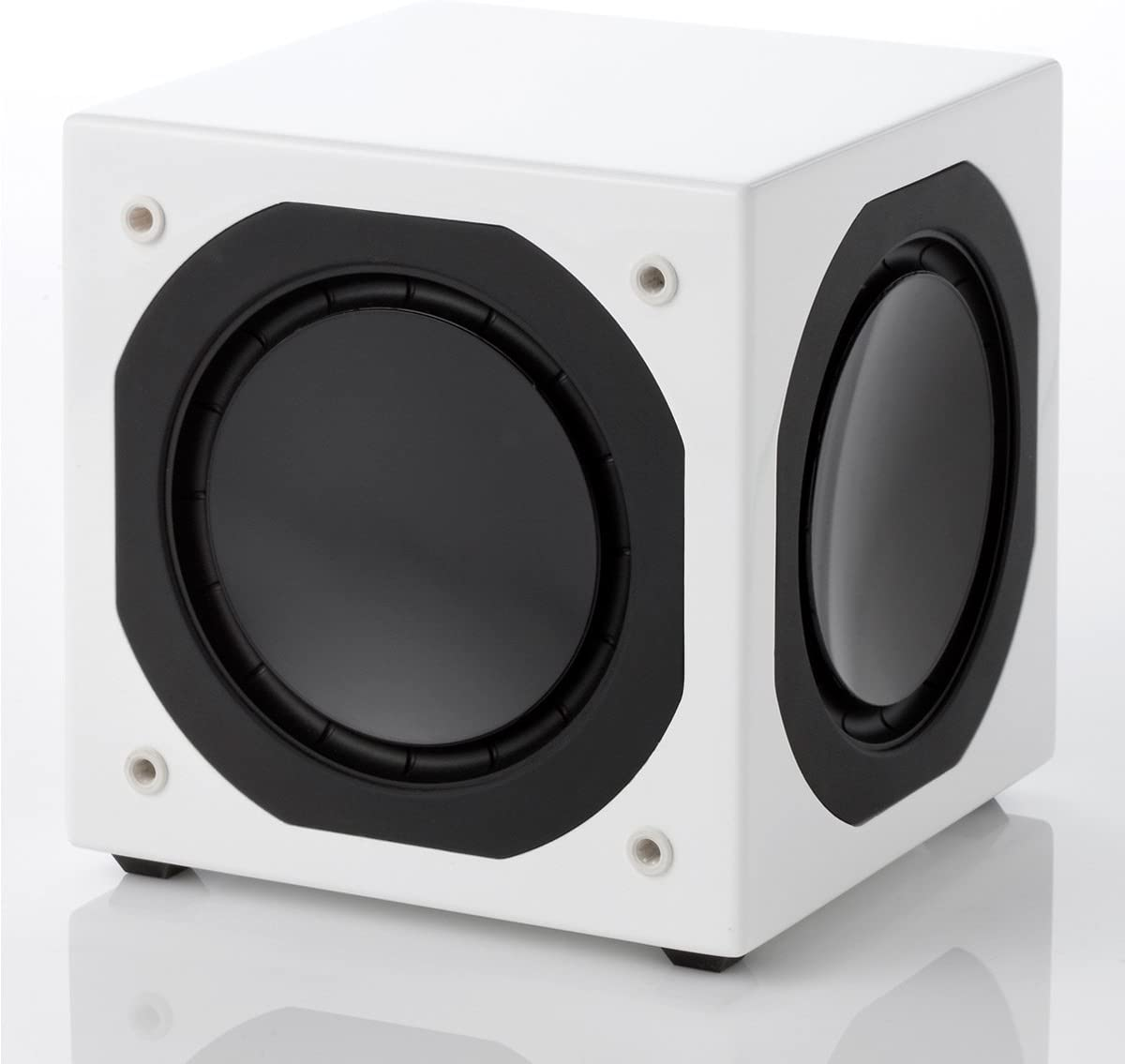 Jamo Sub800 Subwoofer Farbe Weiß Audio Hifi