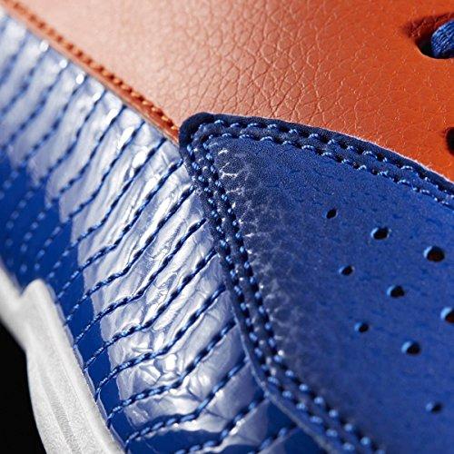 Adidas Unisex-Kinder Nxt Lvl Spd V Nba K Basketballschuhe, Blau (Azul/Naranj/Ftwbla), 38 EU