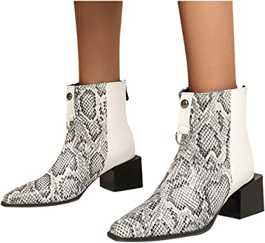 Women Heels Ankle Boots Ladies Shoes