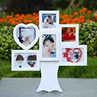 Photo Frame Set Combination Happiness Tree Type Porous Conjoined Creative 5 Inch Personality Photo Frame Simple Wedding Gift