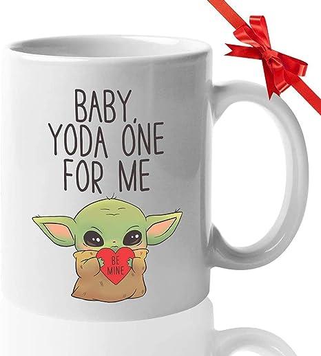 Baby Yoda Be Kind In A World Where You Can Be Coffee Tea Mug Ceramic 11OZ 15 OZ