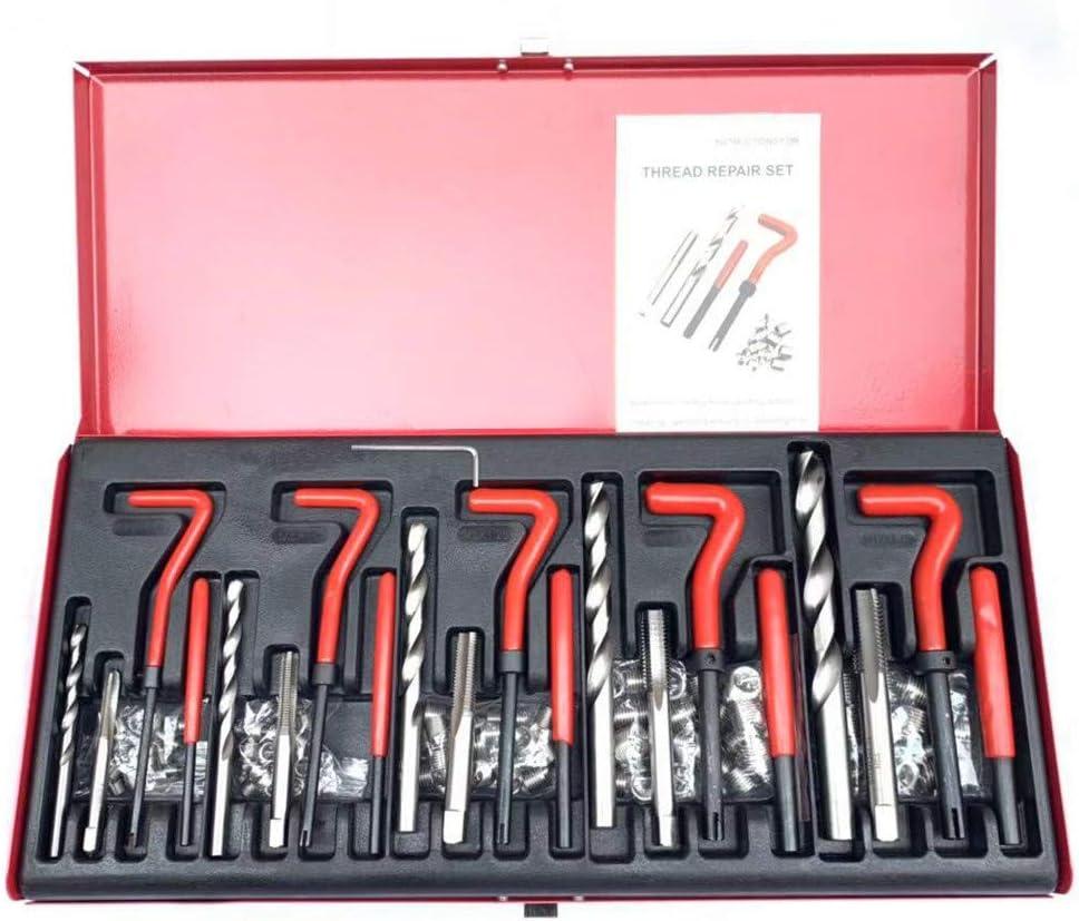 Wokasun.JJ Auto parts131 Piece Helicoil Type Thread Repair Kit M5 M6 M8 M10 M12 Thread Repair KitHot sales