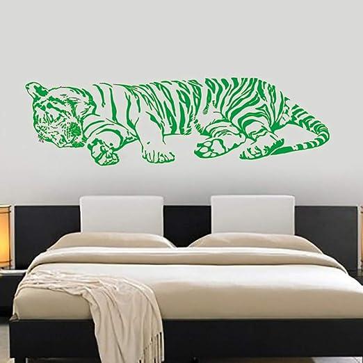 Zaosan Tatuajes de Pared en Pared Tigre durmiendo Selva depredador ...