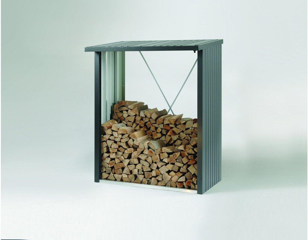 Biohort woodstock 150   armadietto per legna per camino / attrezzi ...