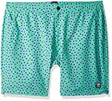 Tom & Teddy Men's Sunglasses Swim Trunks, Spring Green, XL