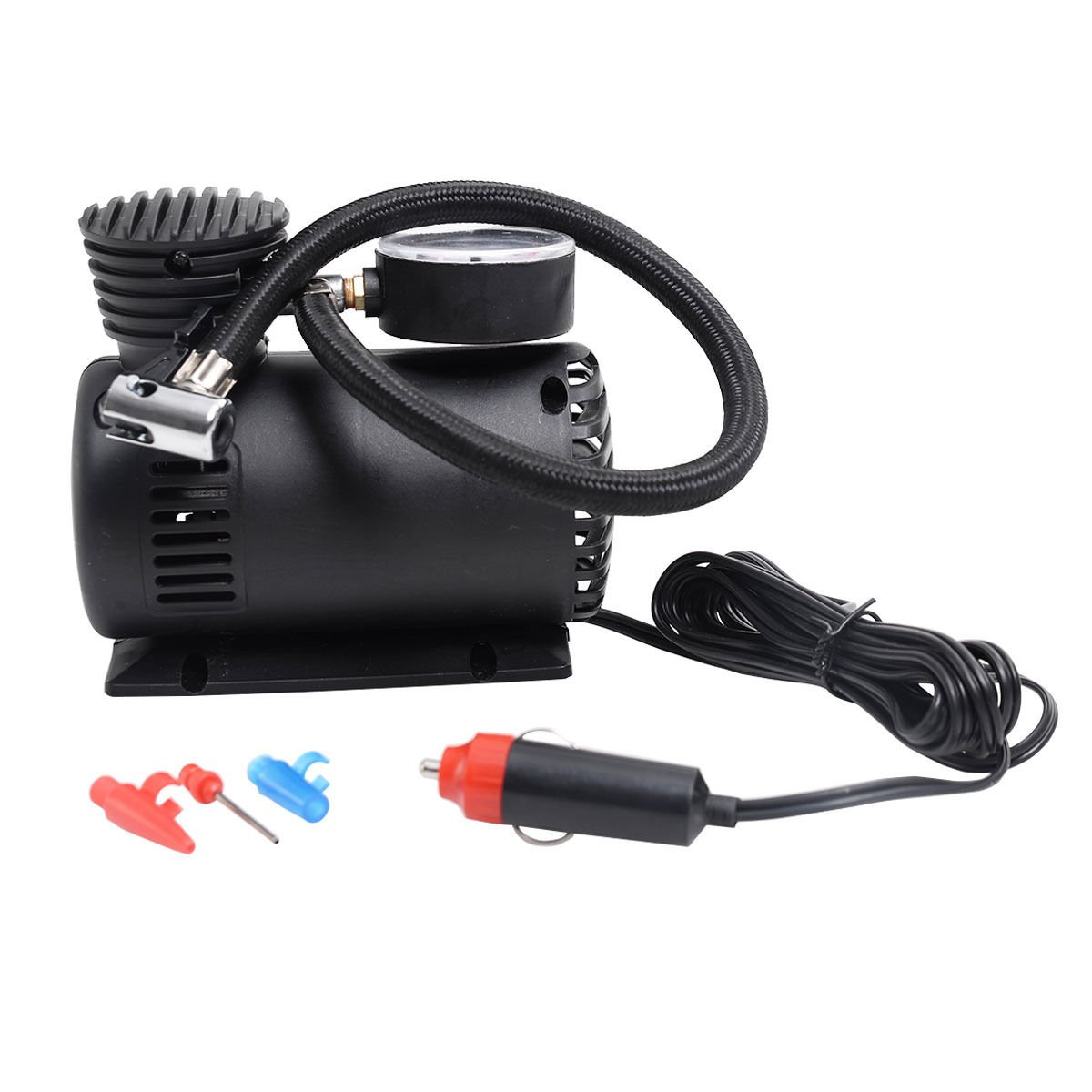 Amazon.com: 300 PSI Mini Air Compressor 12V Car Auto Portable Pump Tire Inflator w/gauge New: Everything Else