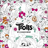 img - for It's Color Time! (DreamWorks Trolls) (Adult Coloring Book) book / textbook / text book