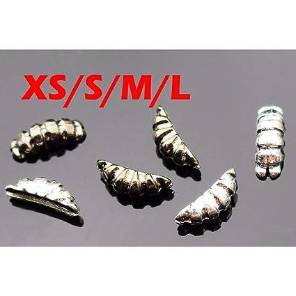 Angelsport-Köder, -Futtermittel & -Fliegen 1000 Silver Nickel Tungsten Fly Tying Beads Assorted Sizes A Angelsport-Fliegen-Bindematerialien