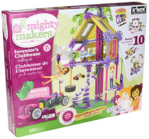 MIGHTY MAKERS Inventors Clubhouse Building Set Girls Construction Set