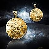 Le pouvoir personnel Talisman (1) argent et d'or