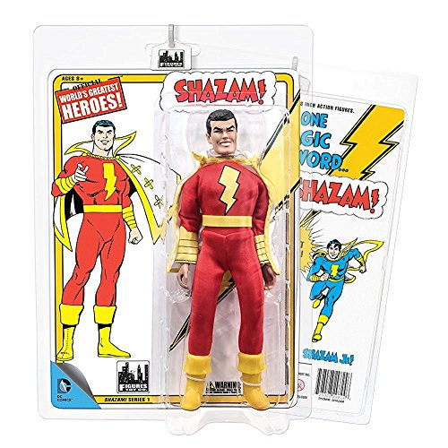 Shazam Retro 8 Inch Action Figures Series 1: Shazam