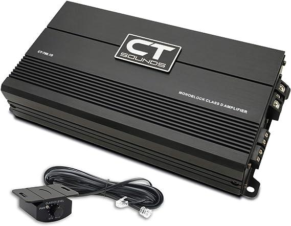 CT Sounds Monoblock Car Amplifier - 700 Watts Power Capacity