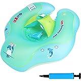 NEEDOON Bébé Siège De Piscine, gonflable bébé flotteur pour enfants bébé enfant en bas âge siège de sécurité piscine piscine anneau d'apprentissage précoce jouet pour filles garçons