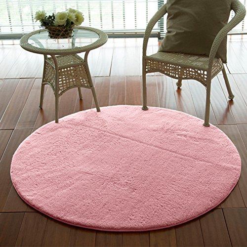Superfine fibra di seta e lana tappeto stuoie sedia soggiorno camera da letto rotondo i tappeti - Sedia camera da letto ...