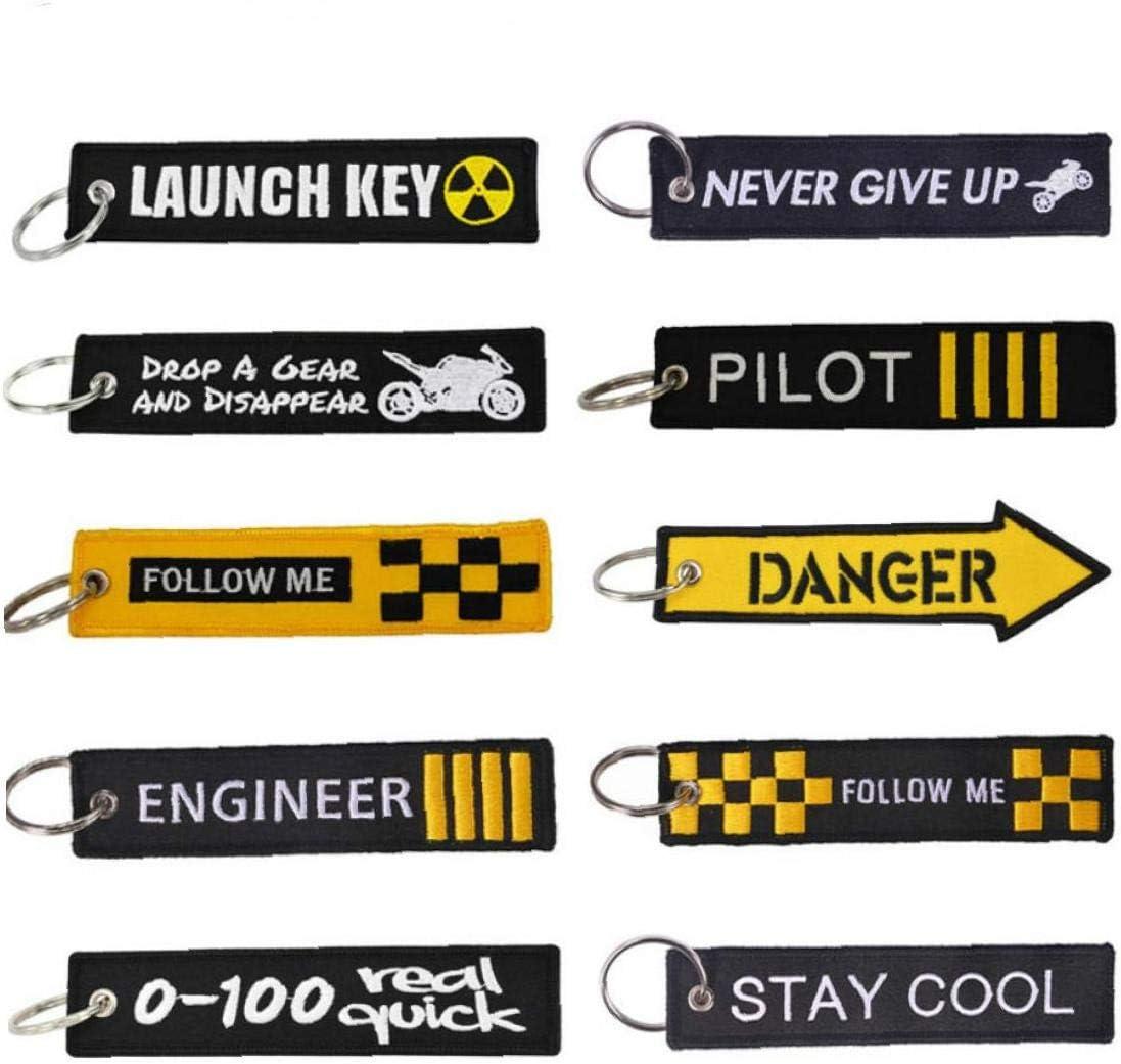 AMOYER Gep/äck Reisezubeh/ör Stickerei Reisetasche Kofferanh/änger f/ür Flight Crew Pilot Aviation