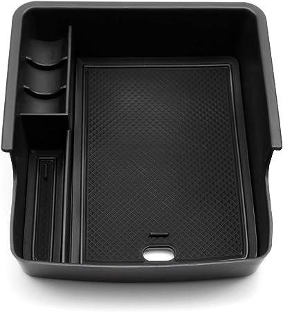 Ruiya Für Ceed Proceed Gt Mittelkonsole Aufbewahrungsbox Armlehne Organizer Tray Tablett Mittelarmlehne Auto Zubehör Schwarz Auto