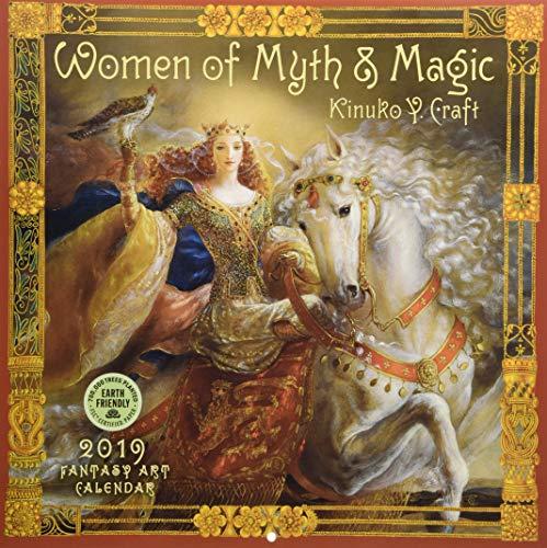 Women of Myth & Magic 2019 Fantasy Art Wall (Fairy Fantasy Crafts)