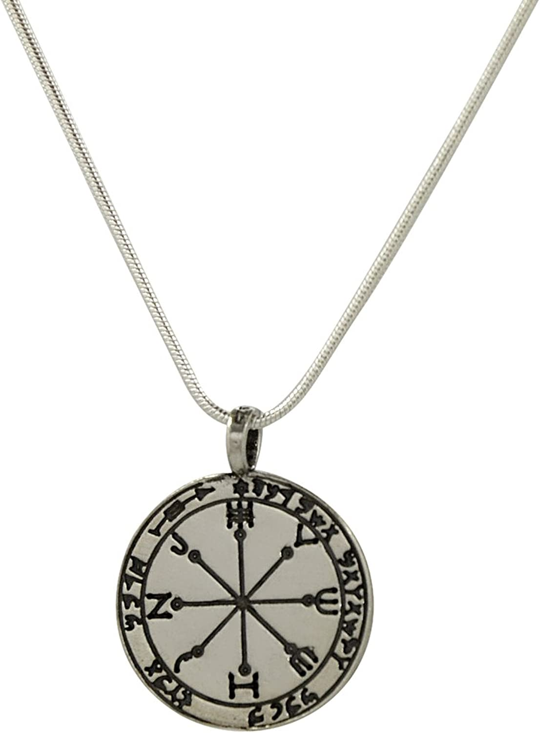 "MIZZE Made for Luck Protection and Safeguard Amulet in 925 Sterling Silver on 19"" Necklace - Men & Women"