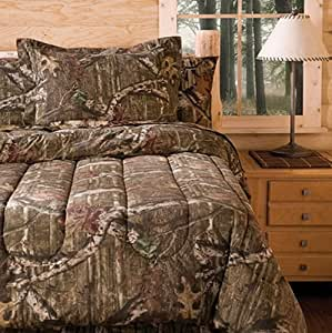 Mossy Oak Infinity Bedding Comforter Set FULL Home Kitchen
