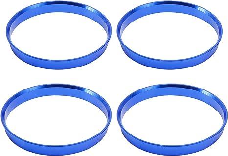4/X Anello Di Centraggio 74.1/mm a 57.1/mm blu//Blue