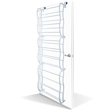 OxGord Shoe Rack For 36 Pair Over The Door Shelf Closet Wall Hanging  Organizer Storage Stand