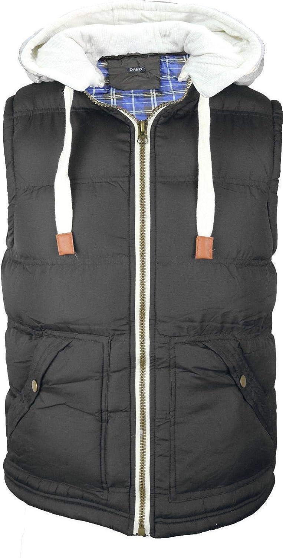 Warmer Kids Boys Girls Body Gilet Padded Vest Puffer Jacket Detach Hooded Coat