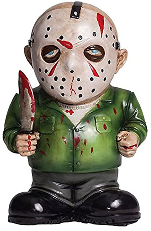 Amazon.com: Morbid Lawn Gnome (Jason Voorhees, multi-colored ... on friday cartoons, friday quotes, friday humor, friday 12th, friday text, friday meme, friday cat,